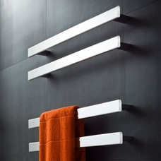 Rogerseller Fold Single 750 Heated Towel Rails - Rogerseller