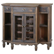 Traditional Storage Units And Cabinets by Benjamin Rugs and Furniture