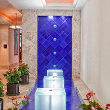 Eclectic Entry by NewZeugma Custom Luxury Mosaics and Iznik Tiles