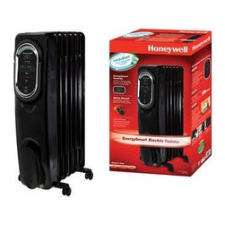 Kaz Inc - Honeywell Energy Electric Radiator Black - KAZ Energy Smart Electric Radiator - Black.