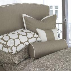 Oilo - Large Cobblestone Print Pillowcase - Set of 2 - Large Cobblestone Print Pillowcase - Set of 2