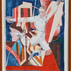 Larry Rivers, Astaire in the Air, Screenprint in Colors - Artist:  Larry Rivers, American (1923 - 2002)