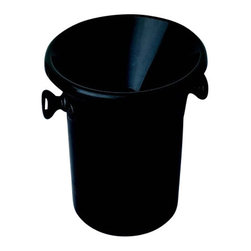 Franmara - 2 Piece Black Plastic Acrylic Wine Tasting Receptacle Spittoon - This gorgeous 2 Piece Black Plastic Acrylic Wine Tasting Receptacle Spittoon has the finest details and highest quality you will find anywhere! 2 Piece Black Plastic Acrylic Wine Tasting Receptacle Spittoon is truly remarkable.
