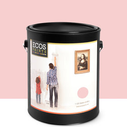 Imperial Paints - Eggshell Wall Paint, Gallon Can, Pretty in Pink - Overview:
