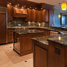 Traditional Kitchen Countertops by Aurora Marble