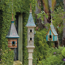 Eclectic Birdhouses by FRONTGATE