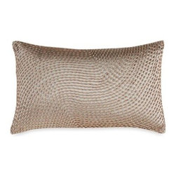 "Kenneth Cole Reaction Home - Kenneth Cole Reaction Home Python Oblong Toss Pillow - This beautiful Python decorative pillow is adorned with beading that slithers elegantly across the pillow, making it a great piece to tie together the Python comforter set. Measures 12"" W x 20"" L."