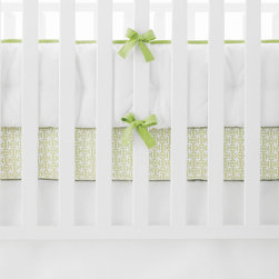 "Serena & Lily - Serena & Lily Nursery Basics Crib Bumper - The perfect backdrop for color and pattern, our versatile white-on-white crib bedding works with everything. Mix it up with our fabulous prints, or go all-white for a look that's crisp, clean and serene. 100% cotton twill Twill tape ties Machine wash Imported Insert not removable 156""L x 11. 5""H overall"