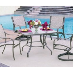 Cast Aluminum Patio Furniture - Find an extensive selection of outdoor furniture on display; our top name brands include Mallin, Hanamint, Alumont, Telescope Casual, Sunset West and many more.