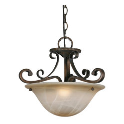 Meridian Convertible Semiflush Light