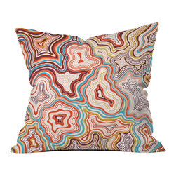 DENY Designs - Khristian A Howell Sedona Outdoor Throw Pillow - Do you hear that noise? it's your outdoor area begging for a facelift and what better way to turn up the chic than with our outdoor throw pillow collection? Made from water and mildew proof woven polyester, our indoor/outdoor throw pillow is the perfect way to add some vibrance and character to your boring outdoor furniture while giving the rain a run for its money.