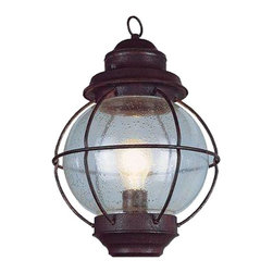 Bel Air Lighting - Bel Air Lighting Wall Mounted Lighthouse 1-Light Outdoor Rustic Bronze Coach - Shop for Lighting & Ceiling Fans at The Home Depot. Nautical favorite onion lantern in seeded glass blends soft reflections into landscape and patio. Classical wire frame and ring accent hook. Lanterns are securely fastened to wall by bracket arm attached in back. Rustic old world appeal. UL approved for wet or damp outdoor locations. Install indoor at foyer or hallway for an authentic look. Available in a variety of styles and 2 finishes.
