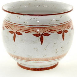 Artistica - Hand Made in Italy - POMONTE: Cachepot/Planter RED - SMALL - POMONTE Collection.