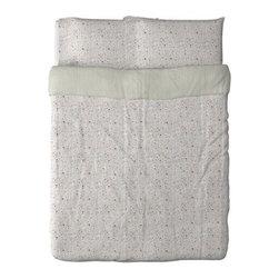 IKEA of Sweden - ALVINE LJUV Duvet cover and pillowcase(s) - Duvet cover and pillowcase(s), multicolor