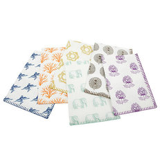 eclectic dishtowels by Burke Decor