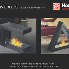 Contemporary Firepits by Nexus Building Supplies Inc.