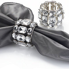 modern napkin rings by Z Gallerie