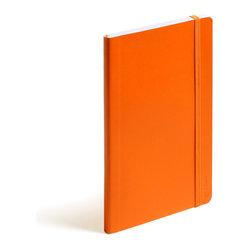 Soft Cover Notebook, Orange, Medium