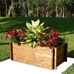 None - TherMod Duo3 Modular Planter - No tools are needed to assemble the TherMod modular planter. The pieces have a reversible surface,so either the grooved or plain face of each board can face outward.