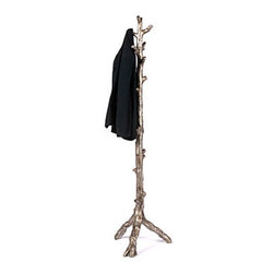 "Z Gallerie - Twig Coat Rack - Knobby by nature makes our Twig Coat Rack the ideal structure for hanging multiple coats and jackets. 18"" x 72""Made of resin with a faux bois finish.Minor assembly required"