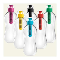 Bobble Bottles, Reusable Water Bottle with Filter - Fresh water will always be an option with these water bottles with built-in filters.