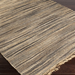 Surya - Surya Woodstock WDS-1005 (Jet Black) 8' x 11' Rug - This Hand Woven rug would make a great addition to any room in the house. The plush feel and durability of this rug will make it a must for your home. Free Shipping - Quick Delivery - Satisfaction Guaranteed