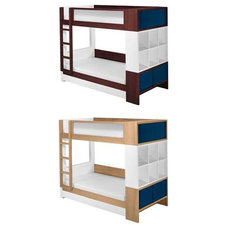Contemporary Kids Beds Contemporary Bunk Bed By Nurseryworks