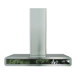 Futuro Futuro 36-inch Integra Mirror Wall Range Hood - Type: Wall-mount