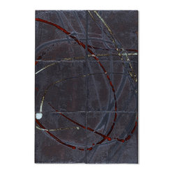 David Shipley Collection - David Shipley painter / sculptor in collaboration with us ( ARTO ) to bring a new translation of his abstract canvases to ceramic tile .