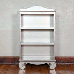 Chelsea Silver Book Case - Chelsea Bookcase in Antique Silver by Bratt Decor