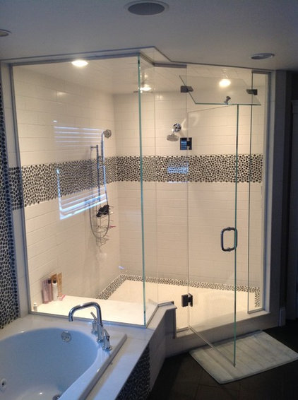 Contemporary Showers by OASIS SHOWER DOORS