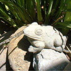 Traditional Outdoor Fountains And Ponds by accentsinthegarden.com