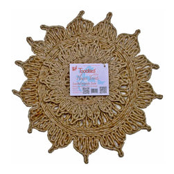 Toockies - Toockies Flower Trivets - Add a little flower power to your next meal and reach for this trivet. Made from ecofriendly organic jute, it's perfectly sized for large roasting pans and pots. Best of all, it protects your furniture and countertops from heat.