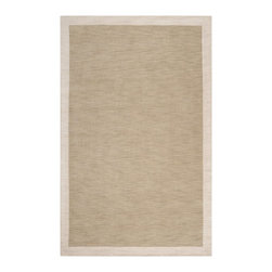 Angelo Surmelis - Angelo Surmelis MDS1003-576 Madison Square Loomed Wool Rug - Surya's Madison Square collection from renowned designer Angelo Surmelis adds the ideal t finishing touch to your room. Available in a stripped pattern, or solid color with a complimentary color border with hand carved details either style will serve to accent or anchor your decor. This plush pile collection is loomed in India from 1% wool.