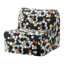 IKEA of Sweden/E Portinson - LYCKSELE Chair-bed cover - Chair-bed cover, Bålsta multicolor