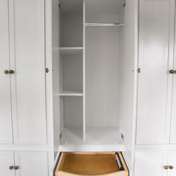 Mudroom Cabinetry - Kyle Crawford