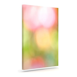 """Kess InHouse - Bree Madden """"Pastel Dreams"""" Wrapped Art Canvas (8"""" x 10"""") - Bring your outdoor patio to life with this artistic outdoor canvas wrap featuring gorgeous artwork by KESS InHouse. These canvases are not only easy to hang and remove but also are the perfect addition to your patio collection. These canvases are stretched around a wooden frame and are built to withstand the elements and still look artistically fabulous. Decorating your patio and walls with these prints will add the splash of art and color that is needed to bring your patio collection together! With so many size options and artwork to choose from, there is no way to go wrong with these KESS Canvas Wraps!"""