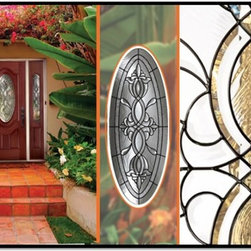 "Plastpro Glass - CASTILE - This distinctive ""old world"" design features ornate and stylized floral patterns who's deep bevels and graceful contours portray a feeling of handcrafted antiquity"