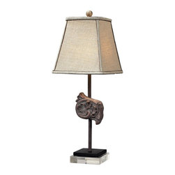 Dimond Lighting - 93-10027 Weeping Water Table Lamp, Casterton - Traditional Table Lamp in Casterton from the Weeping Water Collection by Dimond Lighting.