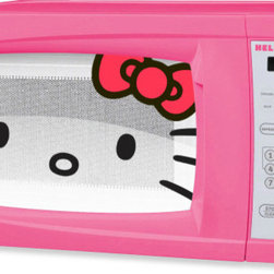 Hello Kitty Microwave - For those utterly devoted to (and maybe a little mad about) Hello Kitty, even your microwave can ooze cuteness.