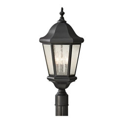 Murray Feiss - 3 Bulb Black Outdoor Lighting - - cUL Wet Approved.
