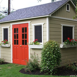 Summerwood Garden Sheds - One of our favorites, Palmerston shed will serve you well for many years to come.