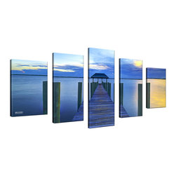 Ready2HangArt - Ready2HangArt Bruce Bain 'Refuge' 5-piece Set Canvas Wall Art - This beautiful 5-piece canvas wall art is from photographer Bruce Bain. His work employs elements of imagination to capture a variety of subjects. It is fully finished, arriving ready to hang on the wall of your choice.