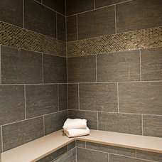 contemporary bathroom tile by Art of Tile and Stone