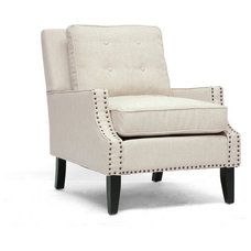 Transitional Armchairs And Accent Chairs by Contemporary Furniture Warehouse