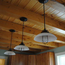 Kitchen Island Lighting by C.M. Chartier Contracting