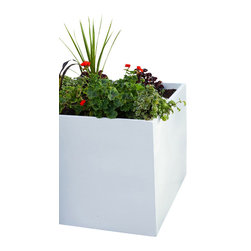 Green Seasons - 24 in. square Privus-Wall Planter - 24 in.  Privus-Wall Planter