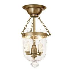 JVI Designs - JVI Designs 1048 2 light Semi-Flush Ceiling Fixture - JVI Designs 1048 Features: