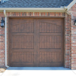 Tongue and Groove Cedar Garage Doors - Tongue and Groove Smooth Cedar Doors