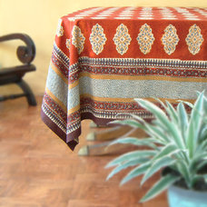 Eclectic Tablecloths by Saffron Marigold